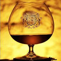Armagnac de Monta bicchiere