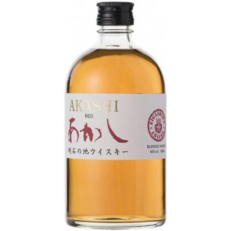Whisky Red Akashi Japanese Blended - Eigashima
