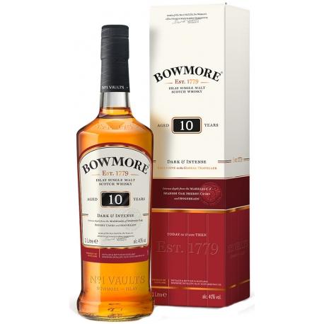 Bowmore Dark & Intense 10 Y 100 cl