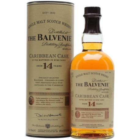 Whisky Balvenie 14 Y Caribbean Cask