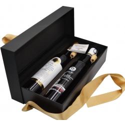 Luxury Gift Box 2 Bottiglie Olio Affiorante 50 cl - Marfuga