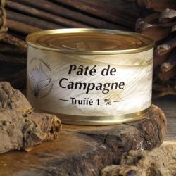 Paté di Campagna Tartufato lattina