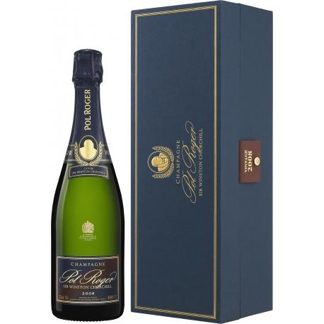 Champagne Brut Sir Winston Churchill 2008 Cofanetto - Pol Roger