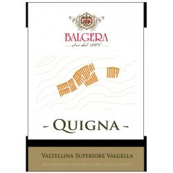 Quigna Valtellina Superiore Valgella Riserva DOCG 2013 - Balgera