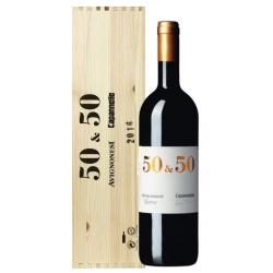 50&50 Toscana IGT Cassa Legno - Avignonesi