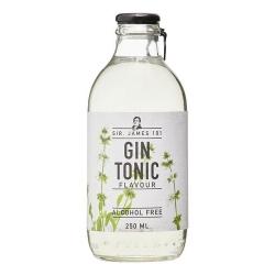 Gin Tonic Mocktail Alcohol Free - Sir. James 101