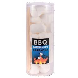 BBQ Marshmallow con Spiedini in Legno