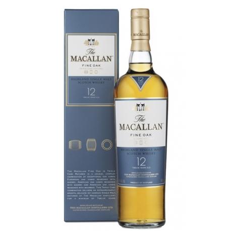 Whisky Macallan 12 Y Fine Oak