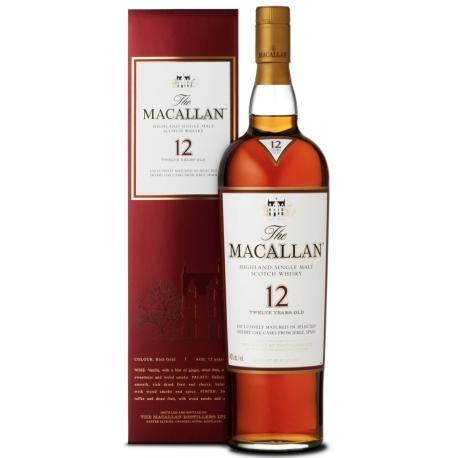 Whisky Macallan 12 Y Sherry Oak