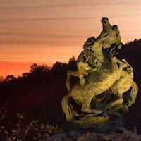 majolini statua
